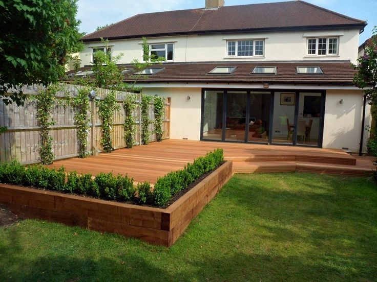 Best 25+ Raised Deck Ideas On Pinterest | Decking Ideas, Hardwood within Raised Decking Ideas For Small Gardens