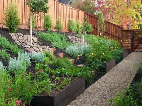 Best 25+ Sloped Front Yard Ideas On Pinterest   Garden Stairs inside Landscaping Ideas For Front Yard With Hill