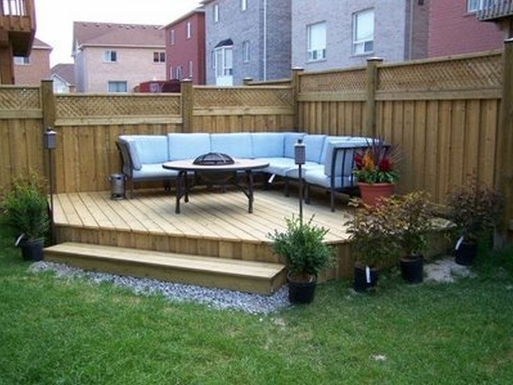 Best 25+ Small Deck Designs Ideas Only On Pinterest | Small Decks intended for Raised Decking Ideas For Small Gardens
