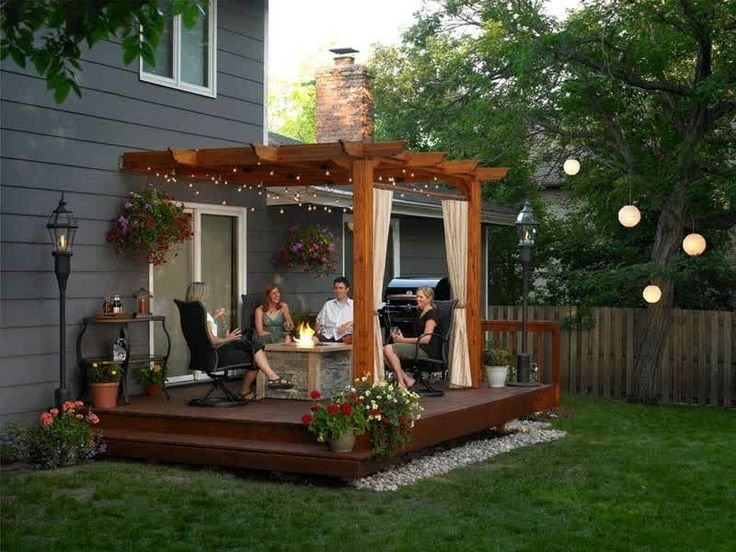 Best 25+ Small Deck Designs Ideas Only On Pinterest | Small Decks throughout Raised Decking Ideas For Small Gardens