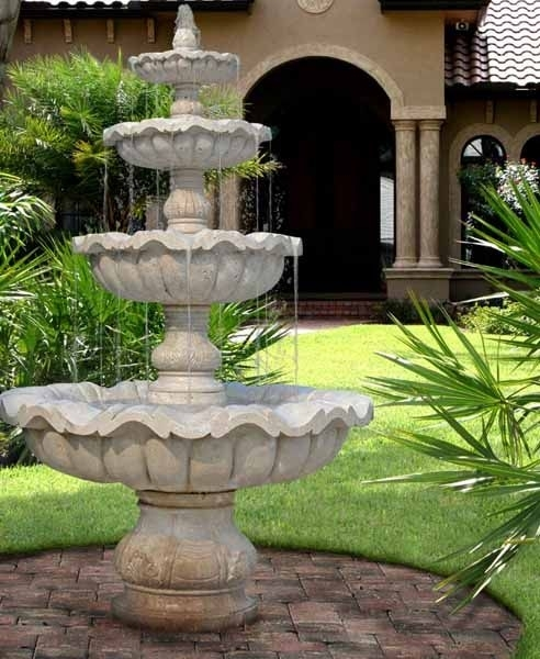 Best 25+ Yard Water Fountains Ideas On Pinterest | Diy Fountain throughout Landscaping Ideas Front Yard Water Feature