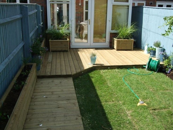Decking Designs For Small Gardens Great Decking Designs For Small for Garden Decking Ideas For Small Gardens