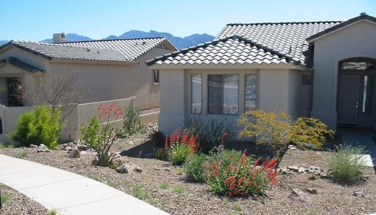 Desert Landscaping Ideas throughout Desert Landscaping Ideas For Small Front Yards