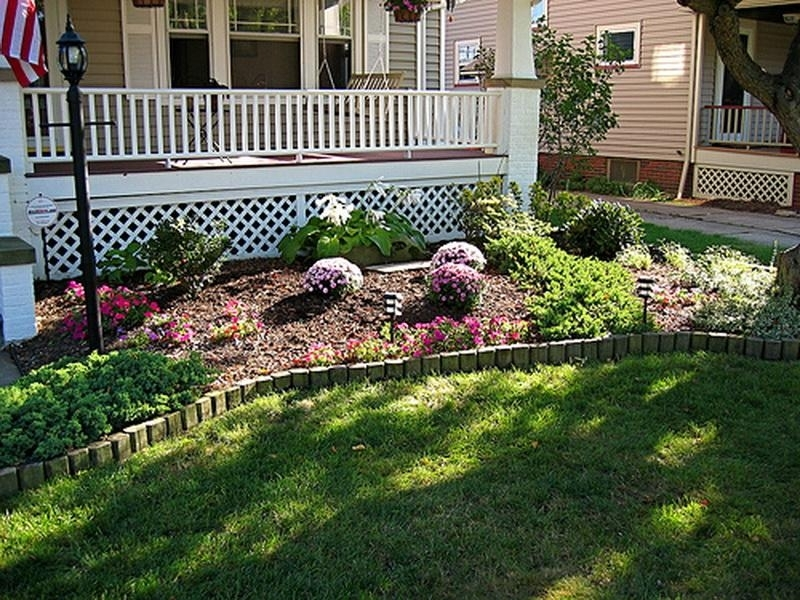 Front Yard Landscape Ideas. Image Of Popular Simple Front Yard with regard to Simple Landscape Designs For Small Front Yards