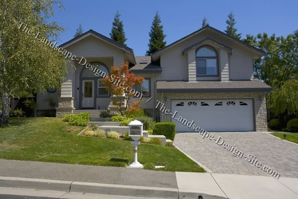 Front Yard Landscaping Ideas regarding Landscaping Ideas For Front Yard With Hill