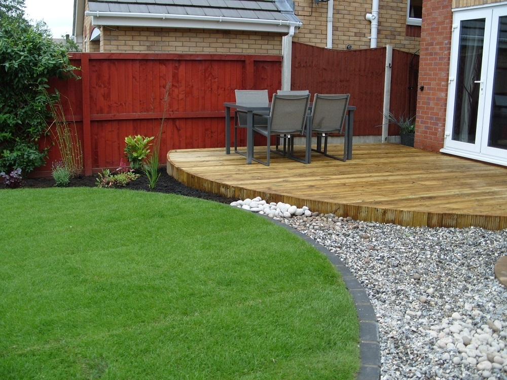 Garden Decking Ideas & Inspiration | Love The Garden pertaining to Raised Decking Ideas For Small Gardens