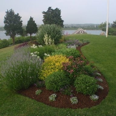 Island Flower Bed Design Ideas, Pictures, Remodel And Decor within Landscaping Ideas For Front Yard Full Sun