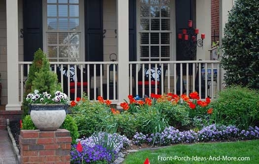 Landcaping Pictures   Home Landscaping Photos   Front Yard inside Landscaping Ideas For Front Yard With Porch