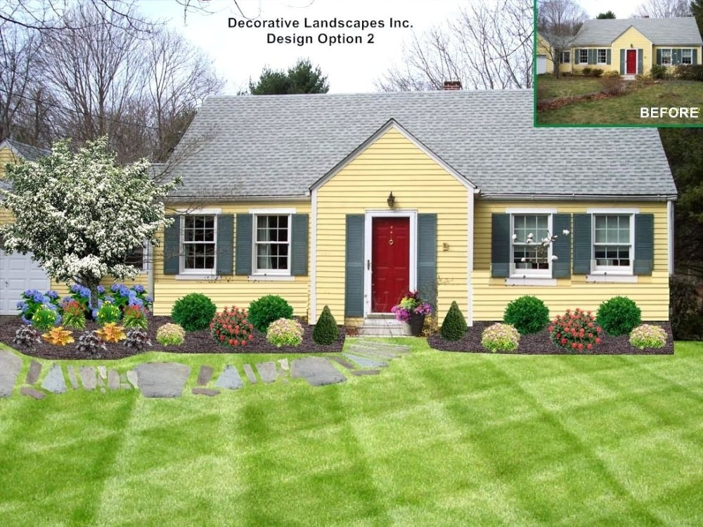 Landscaping Ideas For Front Yard Full Sun   Home Design Ideas with regard to Landscaping Ideas For Front Yard Full Sun