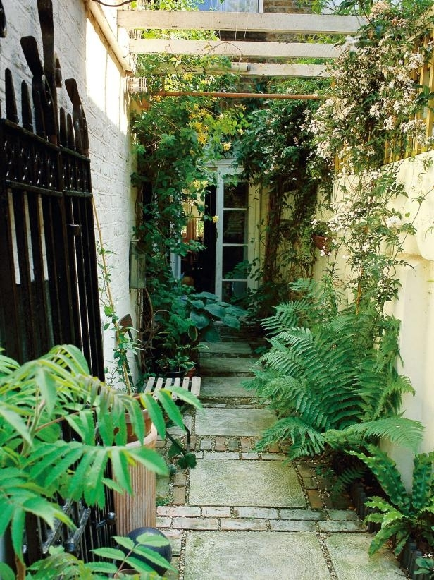 Landscaping Ideas For Skinny Yards And Garden Spaces | Hgtv throughout Garden Design For Small Narrow Gardens