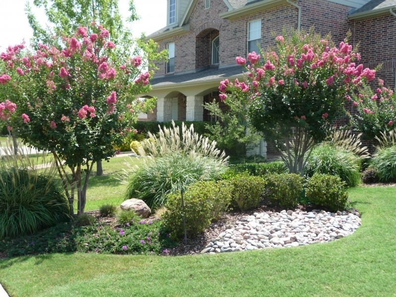 North Texas Back Yard Landscaping Ideas |  Yard Landscape with Landscaping Ideas For Front Yard With Flowers