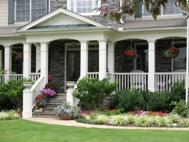 Our Front Yard, Front Yard Landscaping, Containers, Front Porch for Landscaping Ideas For Front Yard With Porch
