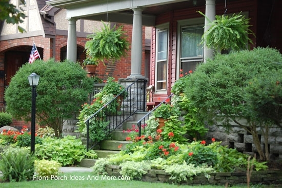 Porch Landscaping Ideas For Your Front Yard And More with Landscaping Ideas For Front Yard With Porch