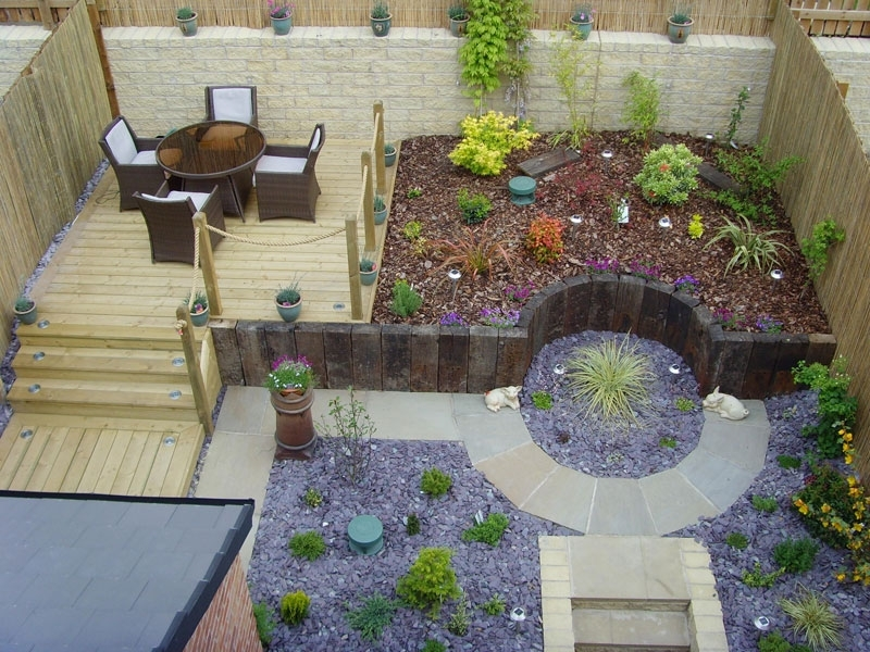 Small Sloped Garden Ideas - Video And Photos | Madlonsbigbear throughout Landscaping Ideas For Small Sloping Gardens