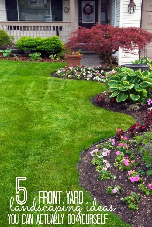 Top 25+ Best Small Front Yard Landscaping Ideas On Pinterest for Landscaping Ideas For Small Front Yard
