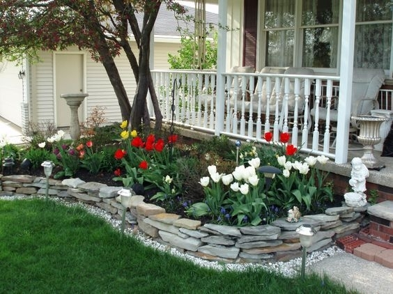 Top 25+ Best Small Front Yards Ideas On Pinterest | Small Front for Rock Garden Designs For Front Yards