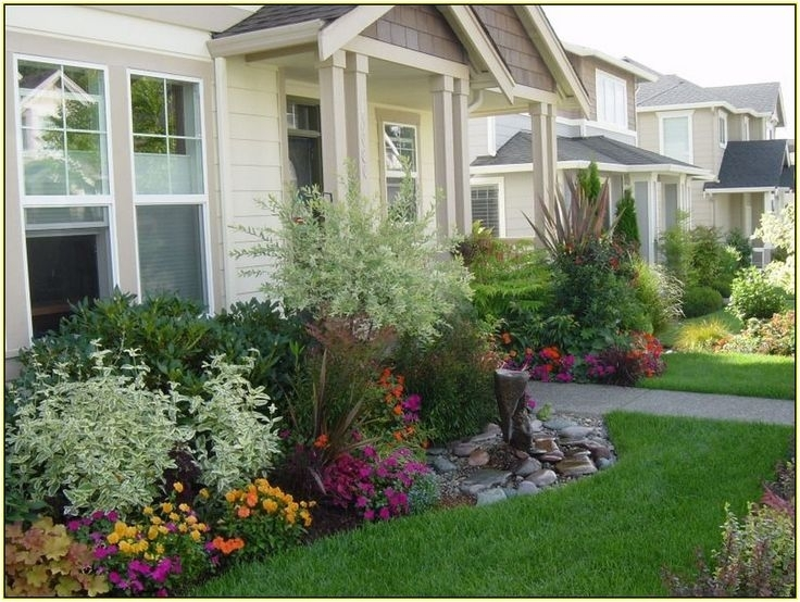 Top 25+ Best Small Front Yards Ideas On Pinterest | Small Front with Simple Landscape Designs For Small Front Yards