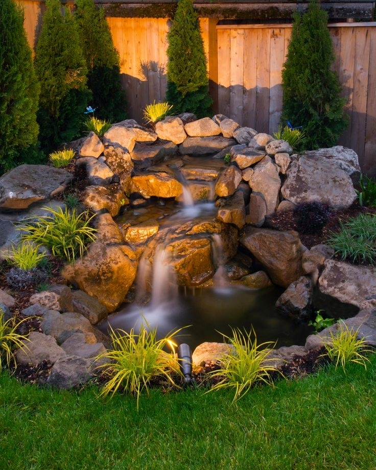 Top 25+ Best Water Features Ideas On Pinterest | Garden Water within Landscaping Ideas Front Yard Water Feature
