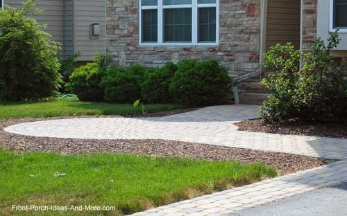 Walkway Ideas To Create Exquisite Curb Appeal pertaining to Landscaping Ideas For Front Yard Walkway