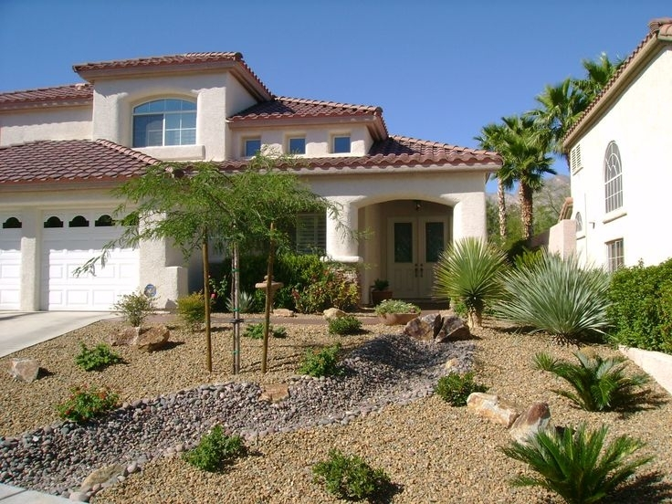 16 Best Images About Home - Front Yard On Pinterest throughout Landscaping Ideas For Front Yard Desert