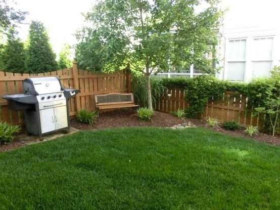 178 Best Small Yard Inspiration Images On Pinterest | Backyard throughout Landscaping Ideas For Small Yards Simple
