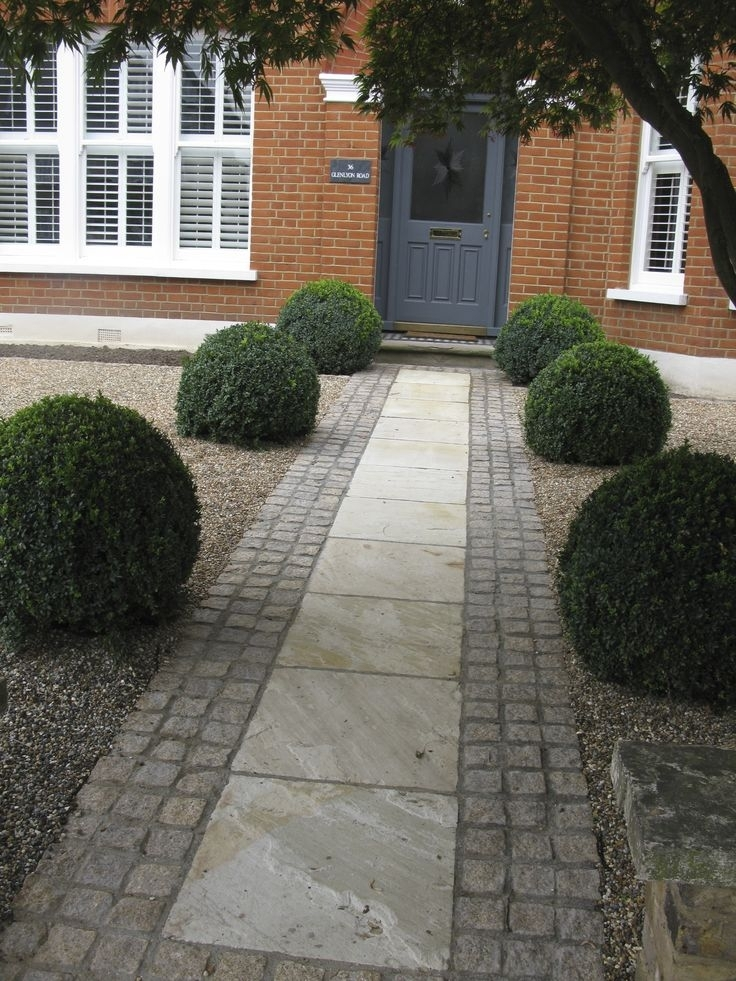 179 Best Front Gardens, Entrances & Driveways Images On Pinterest pertaining to Garden Designs For Front Gardens Driveways