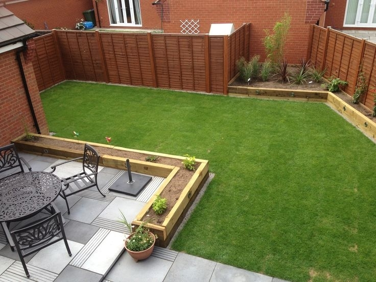 Small Garden Ideas With Railway Sleepers - Garden Design