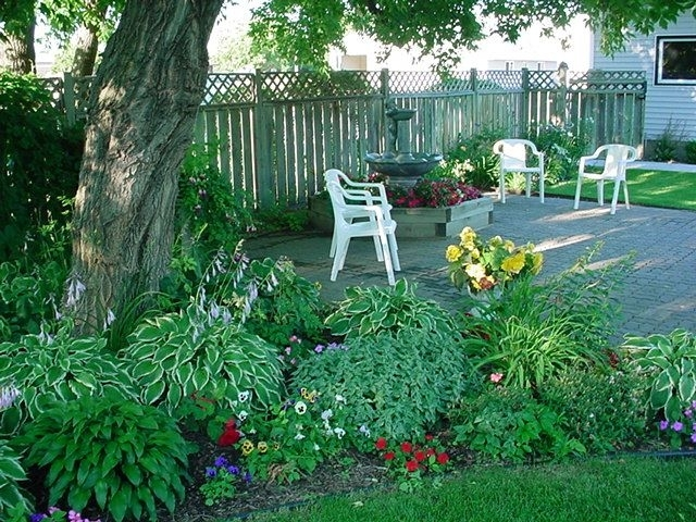 landscaping ideas for front yard with shade