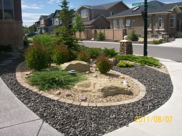 96 Best Rocks For Landscaping Images On Pinterest   Landscaping intended for Landscaping Ideas For Front Yard With Bricks