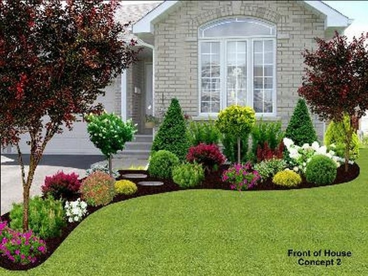 Best 10+ Front Yard Flowers Ideas On Pinterest | Diy Landscaping with regard to Flower Garden Ideas For The Front Yard