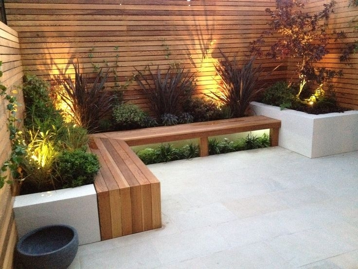 Best 10+ Small Backyard Landscaping Ideas On Pinterest | Small with Contemporary Garden Designs For Small Gardens