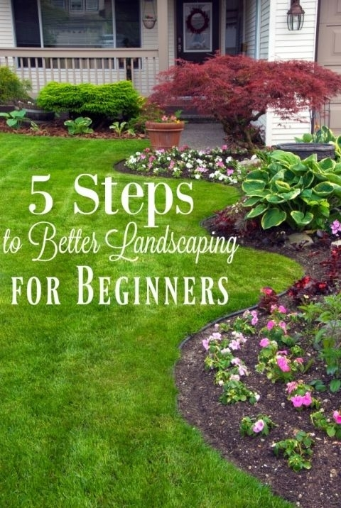 Best 20+ Front Yard Landscaping Ideas On Pinterest | Yard with Easy Garden Ideas For Small Gardens