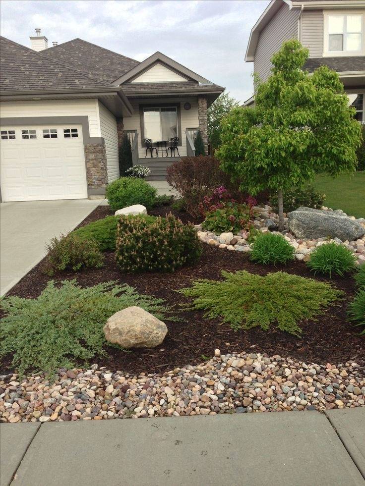 Best 20+ Rock Yard Ideas On Pinterest | Yard, Rock Pathway And intended for Landscaping Ideas For Front Yard With Rocks