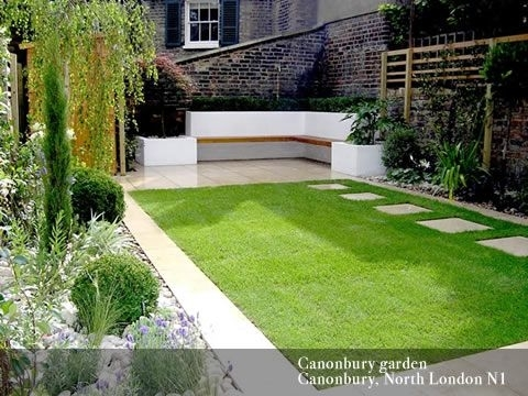 Best 25+ Contemporary Lawn And Garden Ideas On Pinterest | Modern with regard to Garden Design For Small Town Gardens