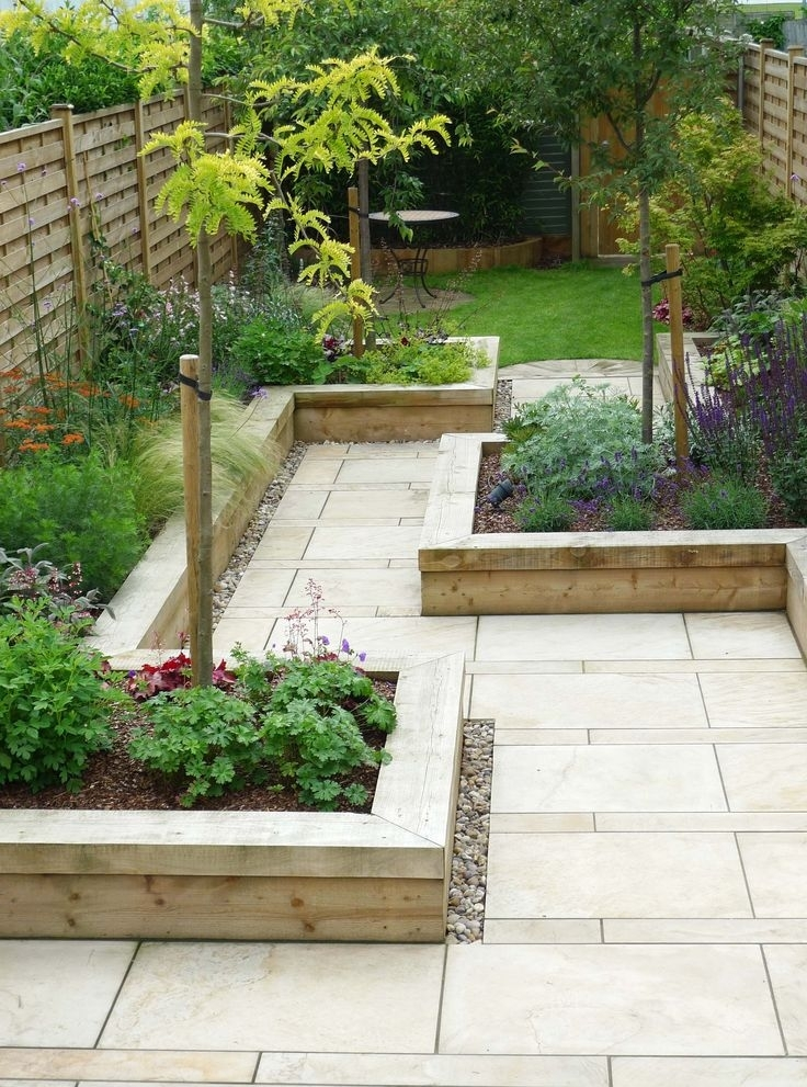 Simple garden design ideas for small gardens garden design for Simple small garden