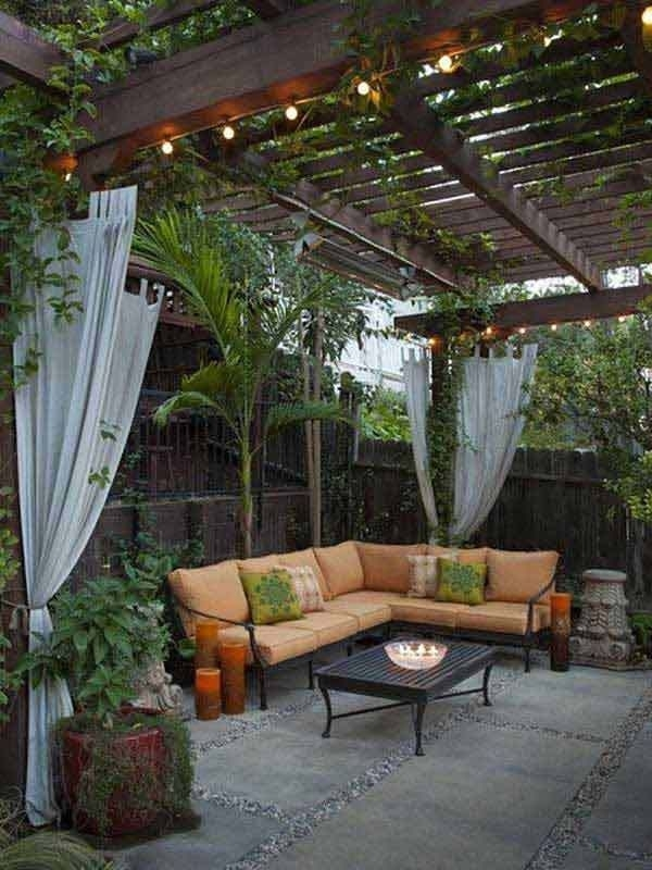 Best 25+ Small Backyard Patio Ideas On Pinterest | Small Fire Pit inside Landscaping Ideas For Small Backyard With Patio
