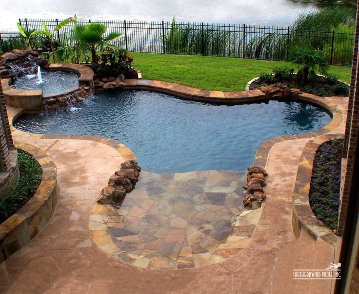 Best 25+ Small Backyard Pools Ideas On Pinterest | Small Pools inside Landscaping Ideas For Small Backyards With A Pool