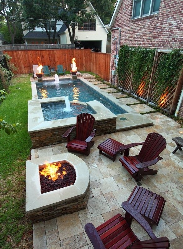 Best 25+ Small Backyard Pools Ideas On Pinterest | Small Pools throughout Landscaping Ideas For Small Backyards With A Pool
