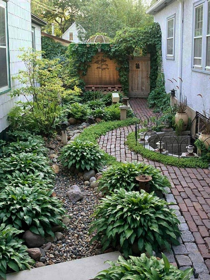 Best 25+ Small Yard Design Ideas On Pinterest | Side Yards, Narrow regarding Landscaping Ideas For Small City Front Yards