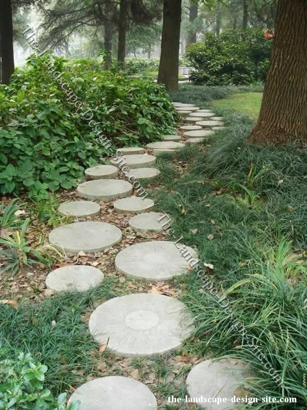 Best 25+ Stepping Stone Paths Ideas On Pinterest | Stepping Stone with regard to Paving Designs For Small Garden Path