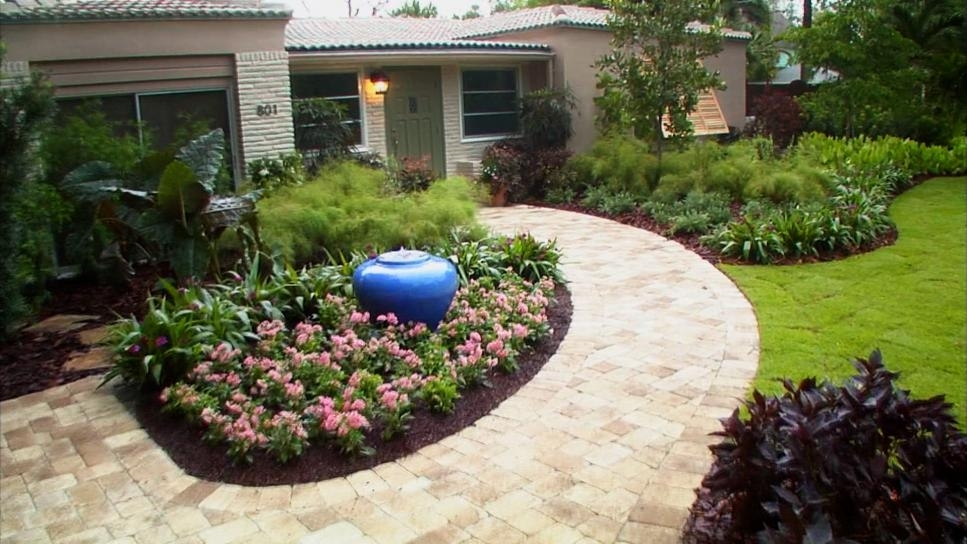 Front Yard Landscaping Ideas | Diy intended for Ideas For Garden Designs For Small Gardens