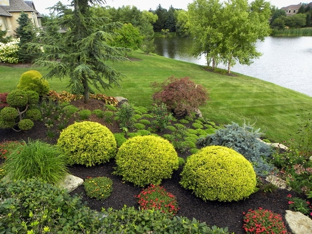 Garden Design: Garden Design With Creating Enclosure And Shade for Landscaping Ideas For Front Yard Shade
