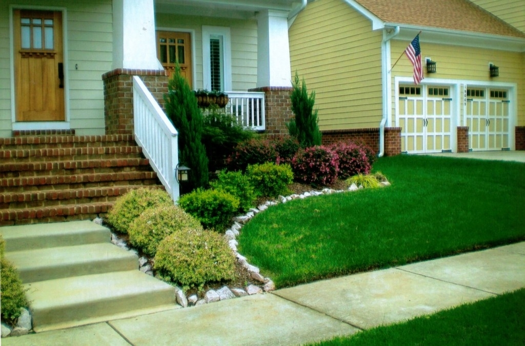 Landscaping Ideas For Front Yard With Shade - Garden Design