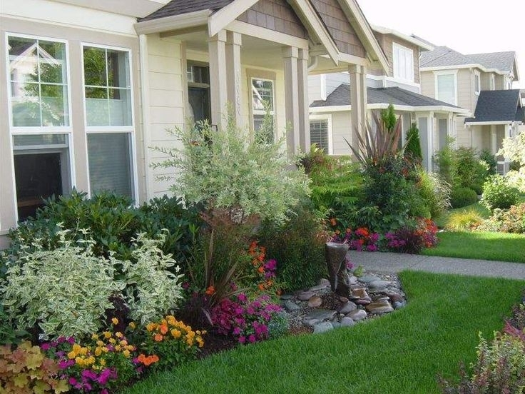 Impressive Front House Garden Ideas 17 Best Ideas About Small pertaining to Garden Designs For Small Front Gardens