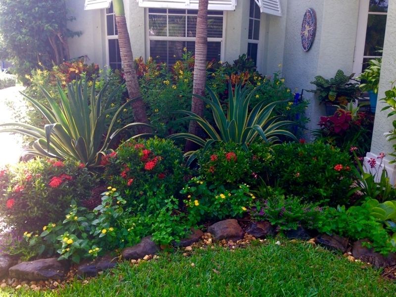 Landscape Design Ideas For Small Front Yards Covered Garden Bench throughout Planting Ideas For A Small Front Garden