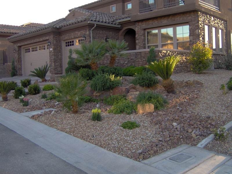 Landscape Ideas For Front Yard With Rocks - Best Garden Reference in Landscaping Ideas For Front Yard With Rocks