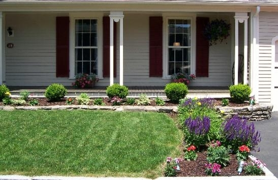 Landscaping Ideas For Front Yard | Awesome Front Yard Gardens pertaining to Simple Garden Ideas For Small Front Yard