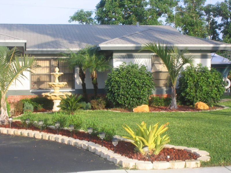 Landscaping Ideas Front Yard With Bricks : Symmetrical Landscaping throughout Landscaping Ideas For Front Yard With Bricks