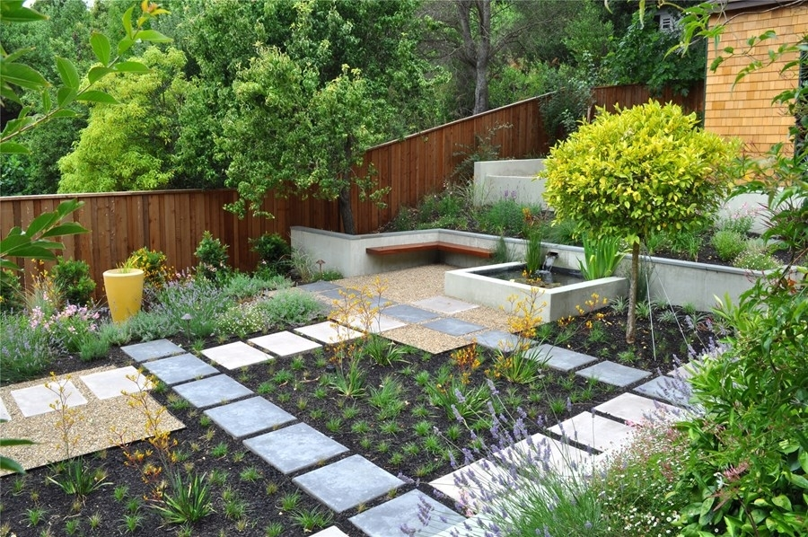 Low Maintenance Backyards - Landscaping Network with Low Maintenance Garden Designs For Small Gardens