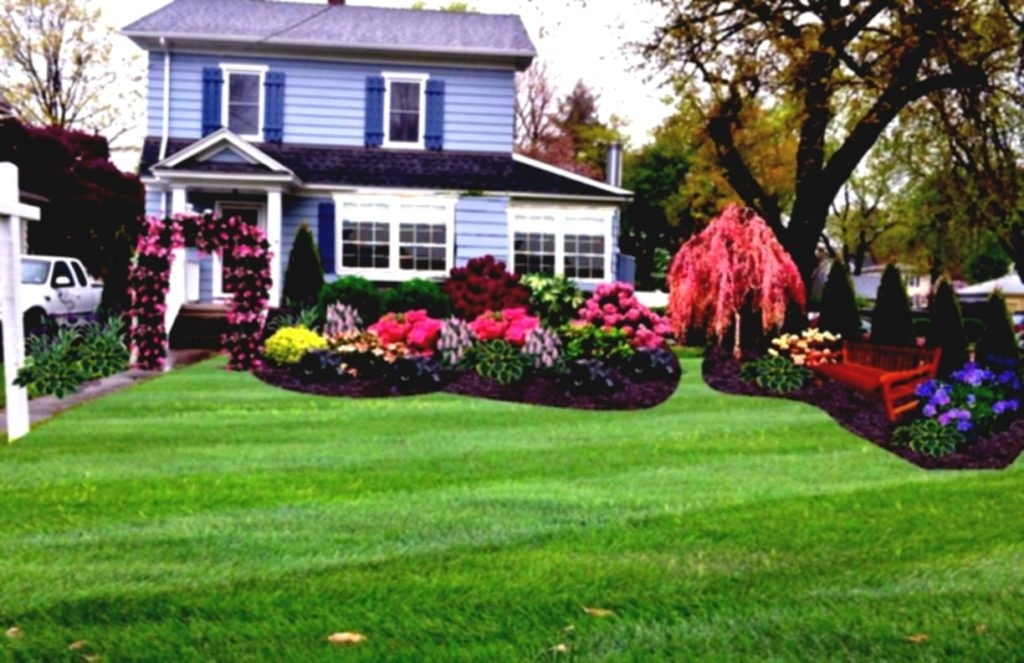 Planting Beds Design Ideas Plants Grow In Planting Beds On Either in Flower Garden Ideas For The Front Yard